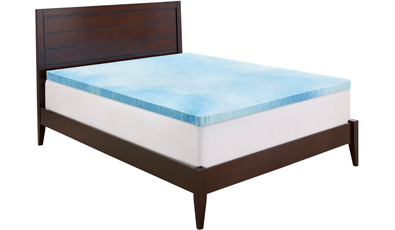 Serta 3in Gel Memory Foam Mattress Topper King Dealhunts Com